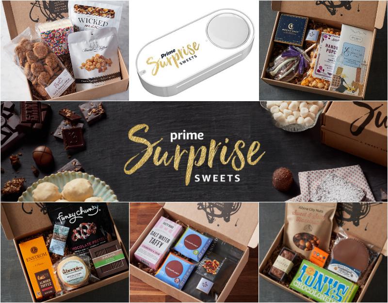 Request Your Invitation: Prime Surprise Sweets Dash Button!