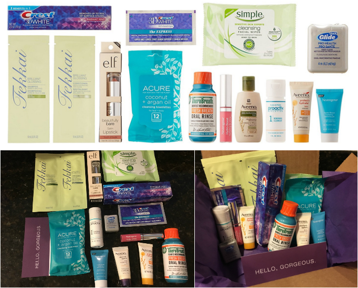 Beauty Sample Box, 10 or more items ($11.99 credit on select products with purchase)
