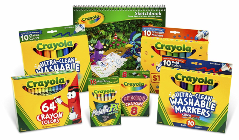 Crayola Crayon And Crayola Ultraclean Washable Marker Kit -- $11.45 (reg. $25.49), Lowest Price to Date!