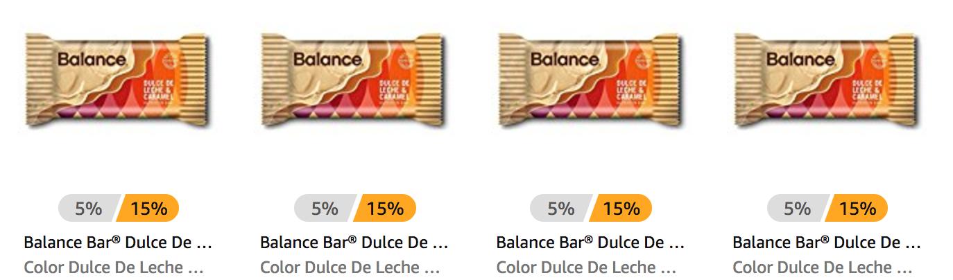 *Price Mistake?!* Balance Bar® Dulce De Leche & Caramel, 22 gram mini bars, 10 count as low as ONLY $1.68!