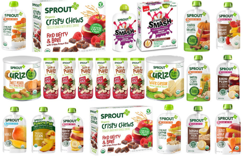 NEW Coupon = Up to 55% Off Sprout Baby Food!