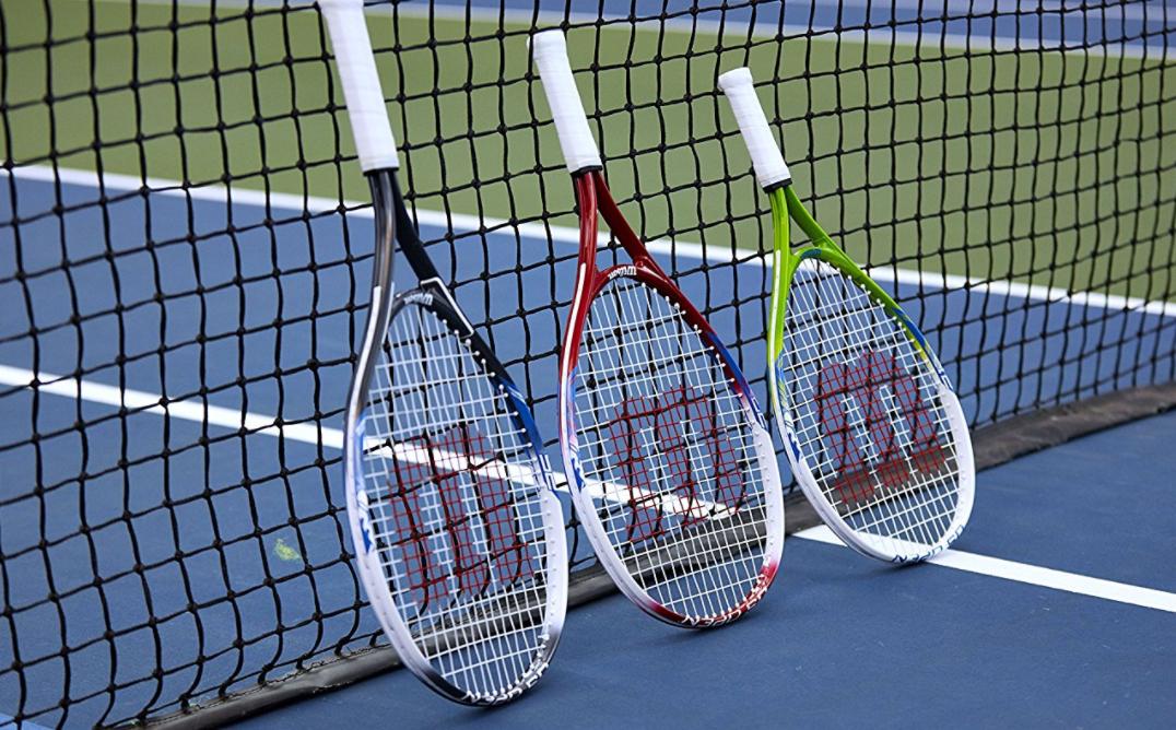 HOT* Wilson Junior US Open Tennis Racquet, 25″ L, Add-on