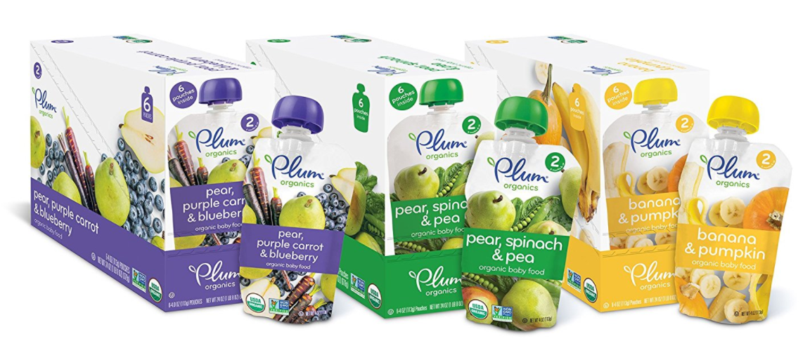 Plum Organic  Pack Baby Food