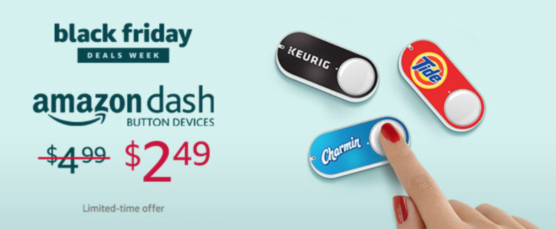 Amazon Dash Button Money Maker ONLY $2.49 (reg. $4.99), Plus $4.99 Credit After First Press