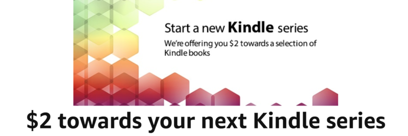 Amazon Black Friday: Get A $2 Credit Towards Your Next Kindle Series!