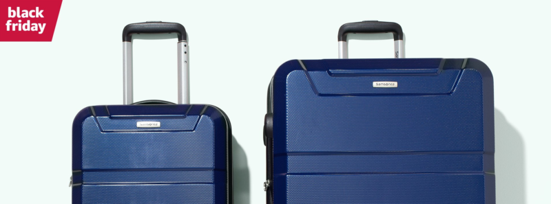 Deal of the Day: Up to 70% Off Samsonite 2-Piece Spinner Sets!