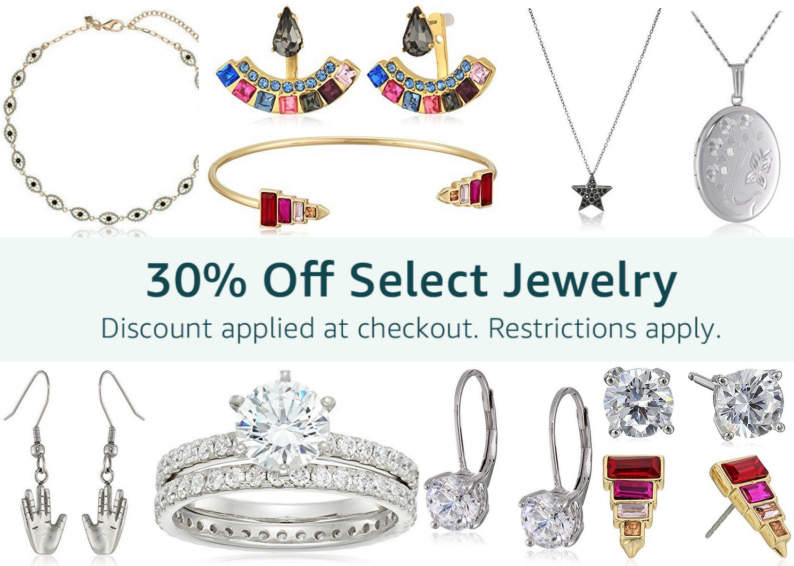 Amazon Black Friday: Extra 30% Off Select Jewelry at Checkout -- MANY Already Discounted!
