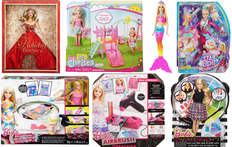Amazon Deals on Select Barbie Sets -- Stock up now!