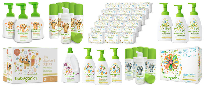 *HOT* Up to 65% Off Select Babyganics Products!