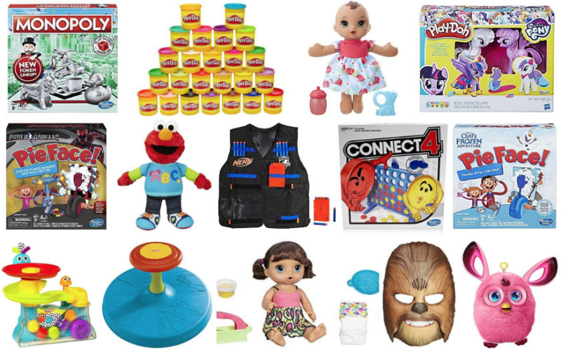 Amazon Cyber Monday: Save up to 50% on select toys from Hasbro Gaming, NERF, Play-Doh, and more