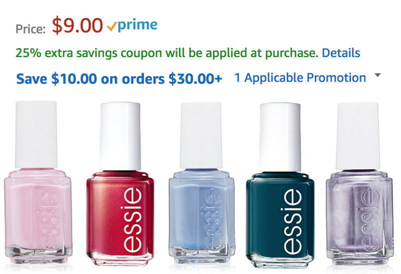 Expired: 5 Essie Nail Polishes Up to 47% Off! | Jungle Deals Blog