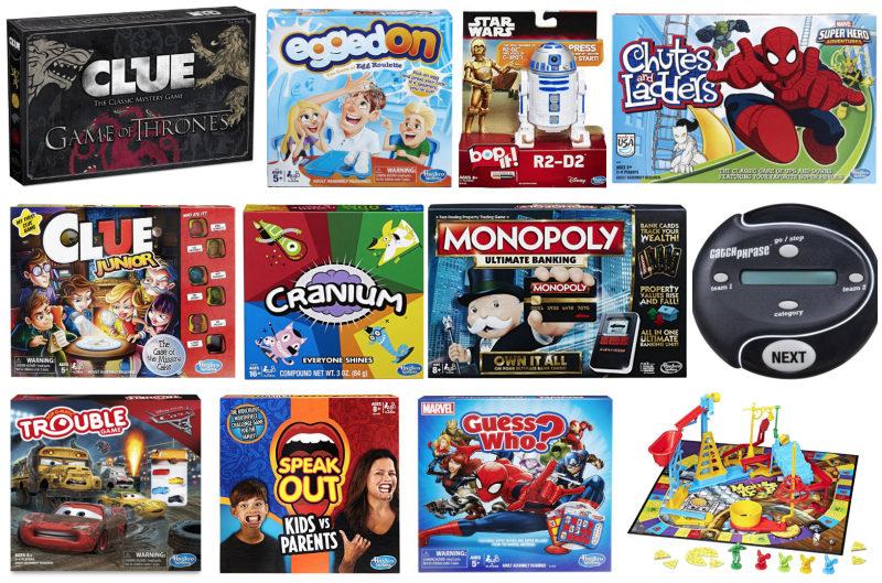 *HOT* Amazon: Buy 2 Get 3rd FREE all Hasbro board games!