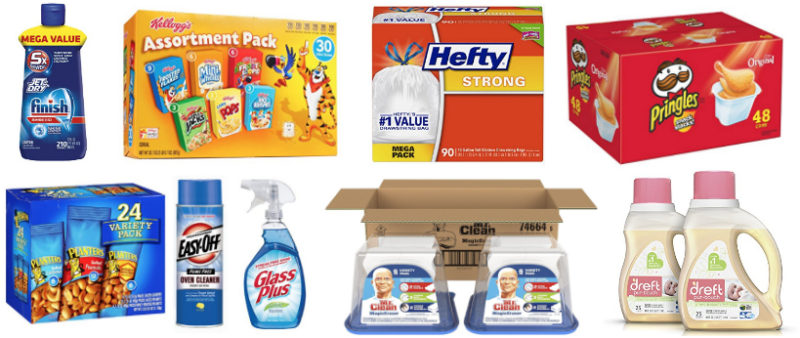 Cyber Monday Deals Week = NEW Coupons on Household Products!