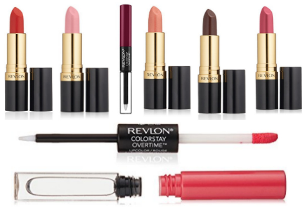 NEW Coupons = Up to 45% Off Select Revlon Cosmetics!