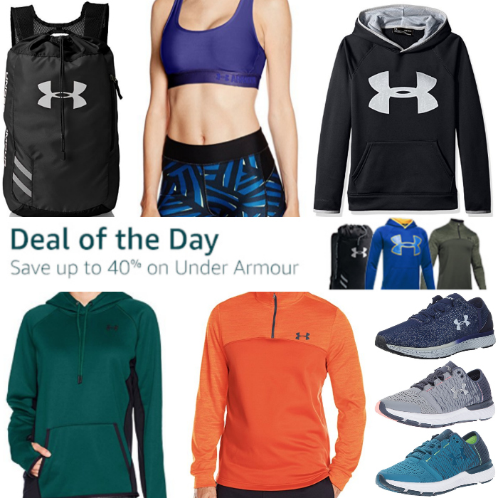 Amazon Black Friday: Save up to 40% on Under Armour!