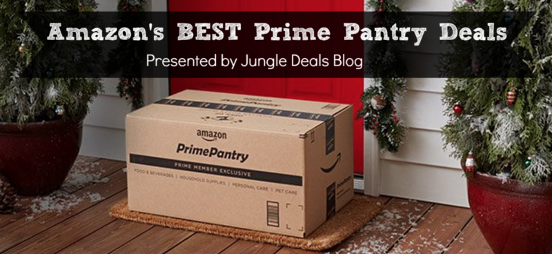 HUGE Round Up of Prime Pantry Deals — Including FREE Shipping, Coupons & More — Updated December 9th, 2017