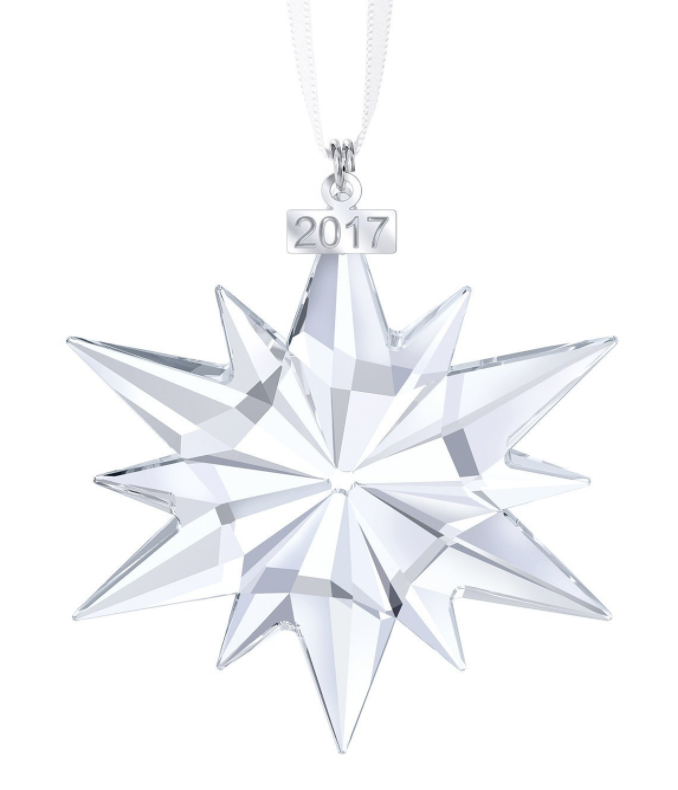 *WILL SELL OUT* New 2017 Swarovski 525789 Annual Edition Christmas Ornament -- $27.50 (reg. $79.00), BEST Price!