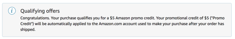 Spend $50 on Starbucks Gift Cards -- Get $5 Amazon Credit!