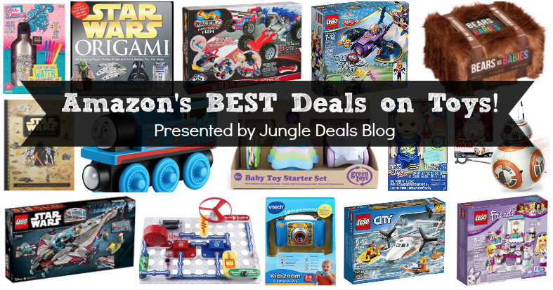 HUGE List of Amazon's BEST Toy Deals -- Updated December 8th, 2017