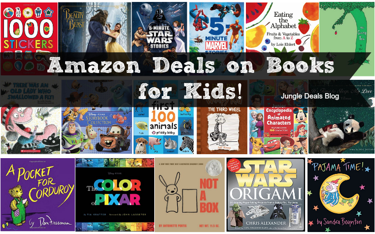HUGE Round up of Amazon Deals on Books for Kids -- Updated December 8th