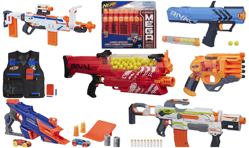 New Promotion =  Buy One Get One 40% off all Nerf blasters and accessories