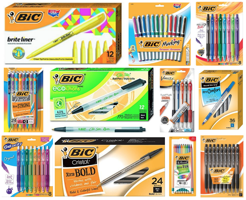 Deal of the Day: Save up to 40% on BIC office & school supplies
