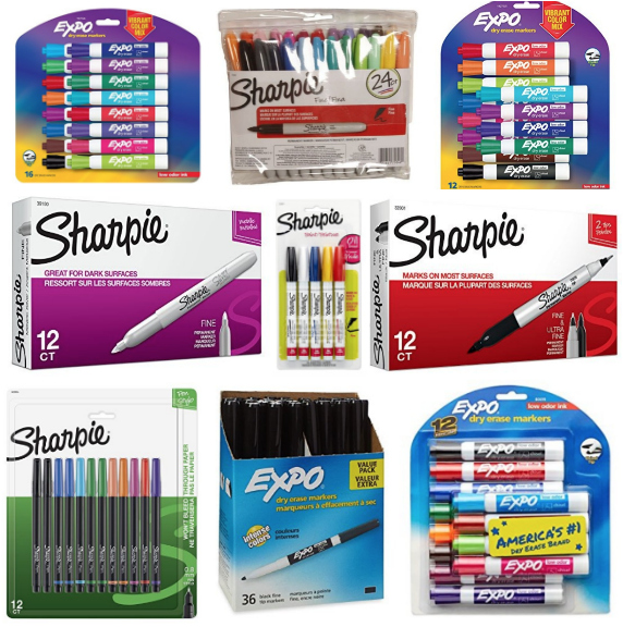 Save BIG on Back to School & Business Writing Products from Sharpie and Expo