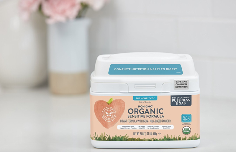 *Price Mistake?!* The Honest Co. Organic Non-GMO Sensitive Infant Formula for Occasional Fussiness & Gas, 21 Ounce as low as $6.59 (reg. $32.95)