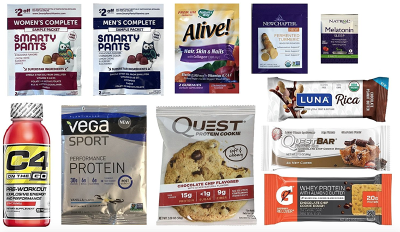 Nutrition & Wellness Sample Box $6.99, Plus $6.99 Credit = FREE After Purchase!