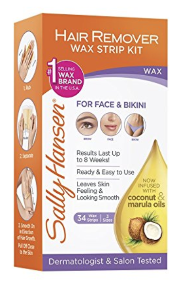 *HOT* Sally Hansen Quick and Easy Hair Remover Kit, Large Wax Strips as low as $3.89 (reg. $9.99)