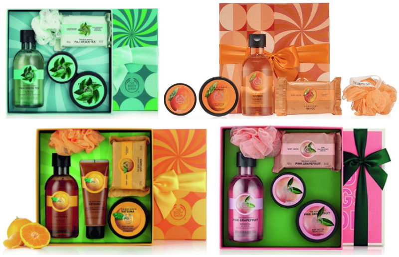 *HOT* The Body Shop Festive Picks Sets From $4.46 (reg $20.00), BEST Price!