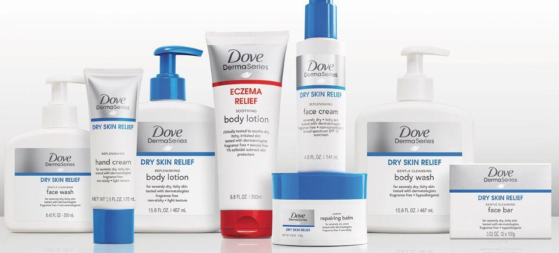 Coupon Deals on Dove Derma Series Products