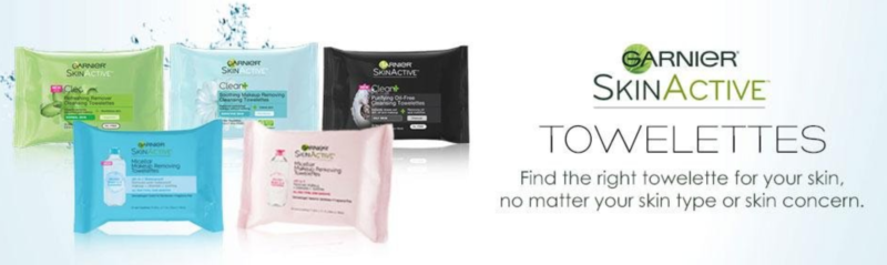 Garnier Skinactive Clean+ Refreshing Makeup Remover Wipes, 2 Count as low as $4.19 or $2.20/pack (reg. $9.98)