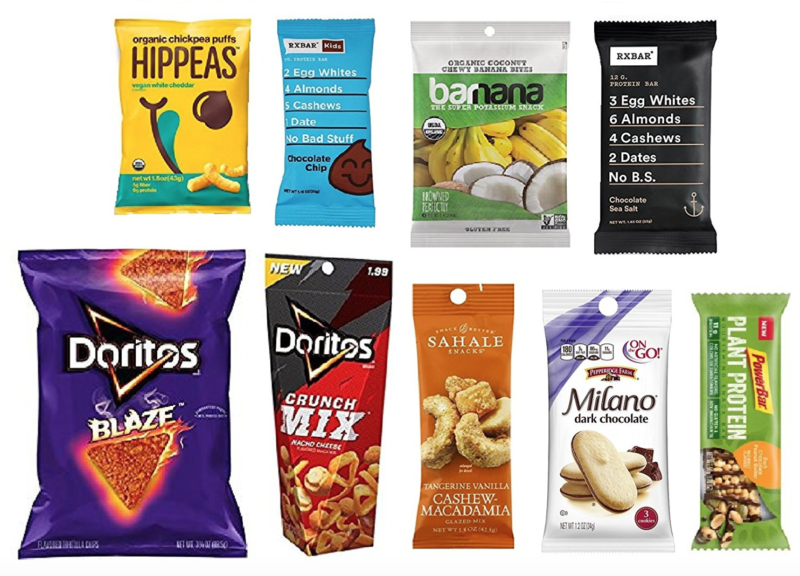 Snack Sample Box (get an equal credit toward future purchase of select snack products) -- $9.99, FREE After Credit!