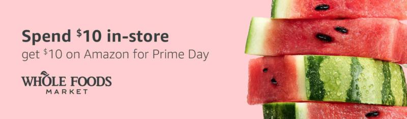 Amazon Prime Day Whole Foods