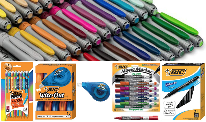 Deal of the Day: Save up to 35% on BIC Writing Supplies