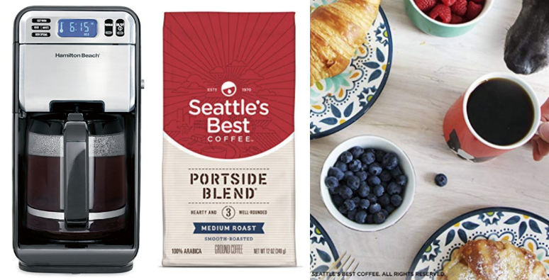 Deal of the Day: Save on Hamilton Beach Coffee Maker and Seattle's Best Coffee!