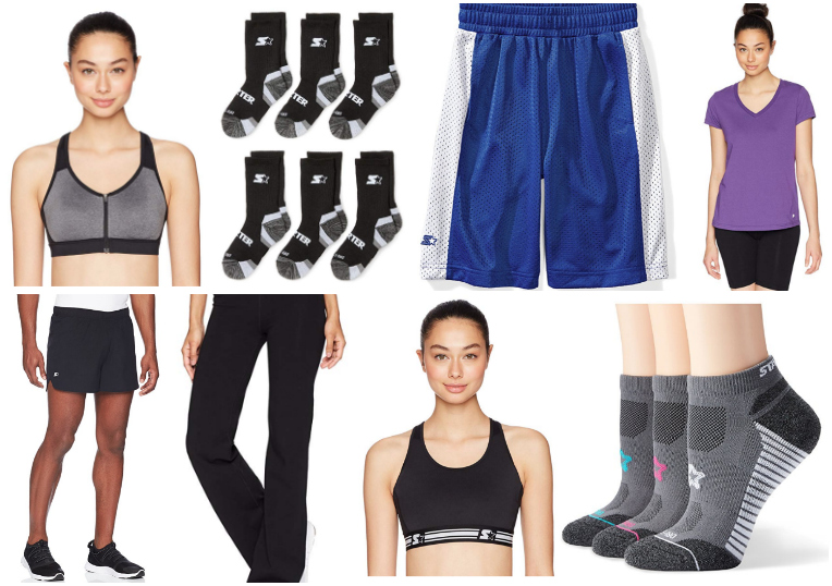 Deal of the Day: Up to 60% off Starter Activewear for the Family Starting at $4.40!