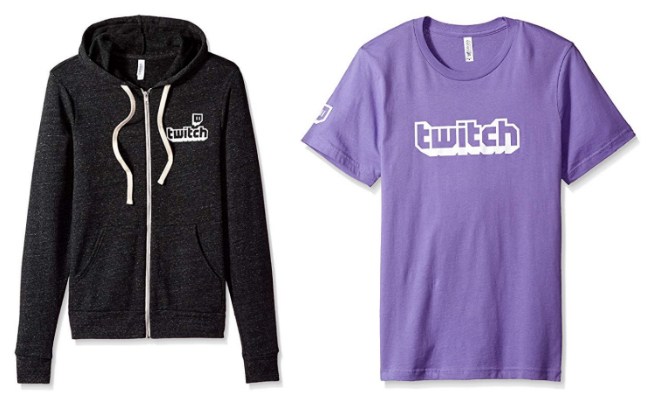 50% Off Select Twitch Logo Clothing While Supplies Last!