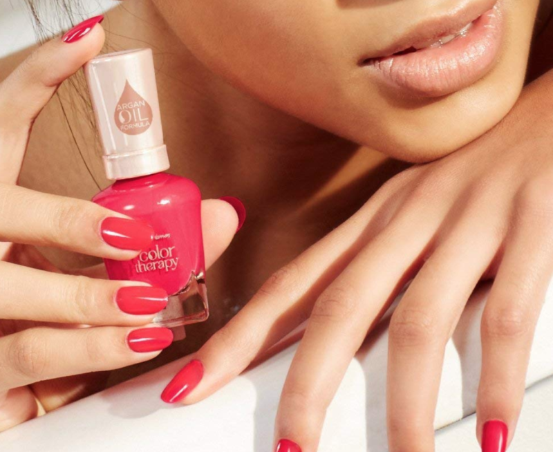 Sally Hansen Color Therapy Nail Polish Pampered In Pink