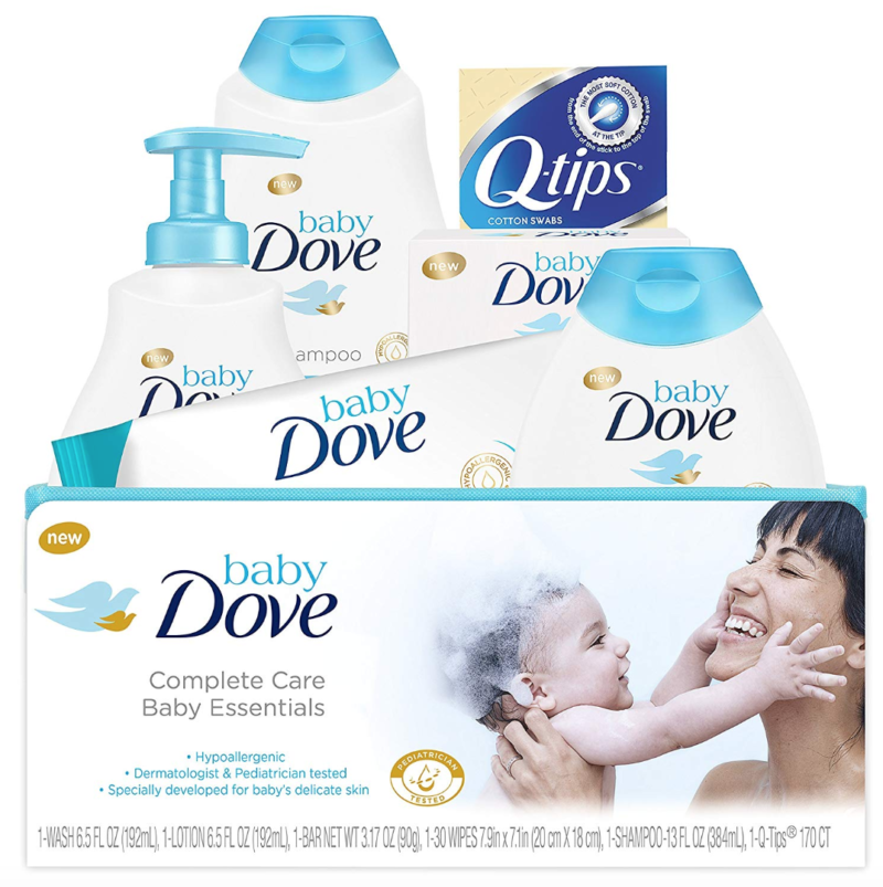 *HOT HOT HOT* Up to 40% Off Baby Dove Complete Care Bath Time Essentials, Gift Set, 6 pc
