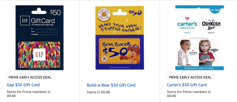Save $10 Off Purchase of Select $50 Gift Cards!