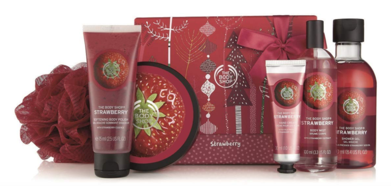 The Body Shop Strawberry Premium Selection Medium Gift Set as low as $18.76 (reg. $34.14)