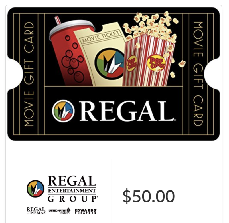 50 Of Regal Cinemas Email Gift Cards Only 4250 Jungle Deals Blog
