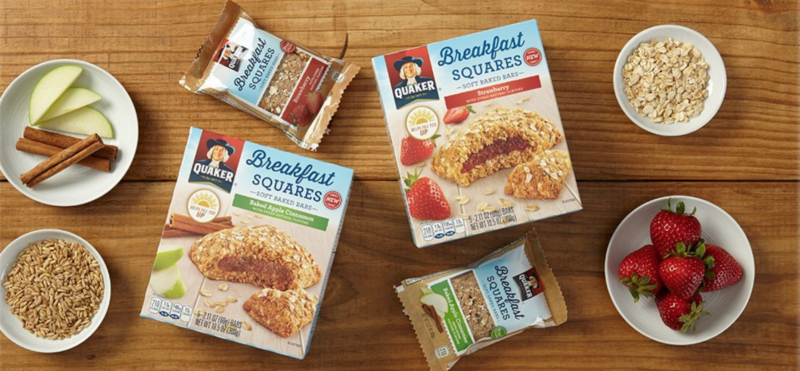*HOT* Quaker Baked Squares, Soft Baked Bars, Apple Cinnamon & Strawberry, 5 Bars (Pack of 8) as low as $7.28 or 18¢/bar shipped (reg. $12.59)