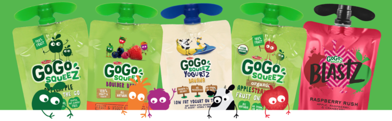 NEW Coupons = Save on GoGo squeeZ Apple Sauce, Yogurt & More!