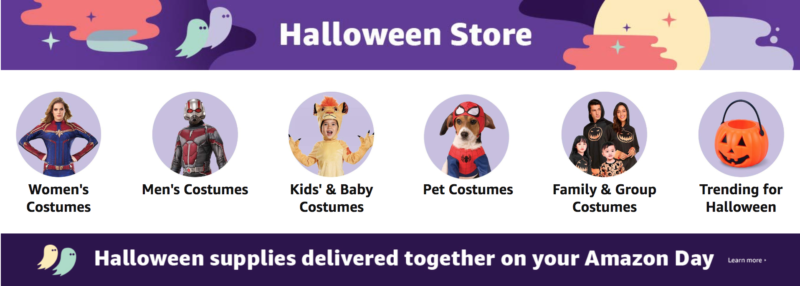 PSA: Get Your Halloween Costume from Amazon NOW!