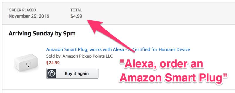 Amazon Black Friday: Get an Amazon Smart Plug for ONLY $4.99 When You Order Through Alexa!