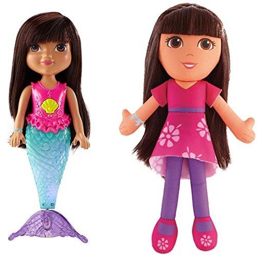 Fisher-Price Nickelodeon Dora and Friends Sparkle and Swim Mermaid Dora
