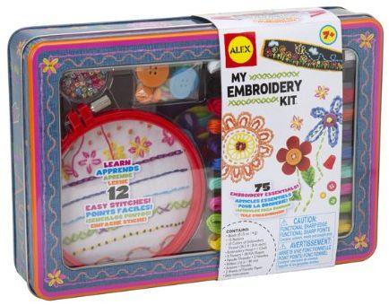 ALEX Toys Craft My Embroidery Kit $10.40 (reg. $30.00)